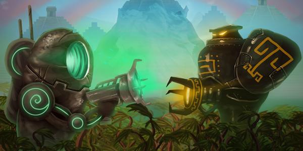 Mayan Death Robots : Arena
