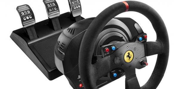 thrustmaster annonce le t300 ferrari integral racing wheel. Black Bedroom Furniture Sets. Home Design Ideas