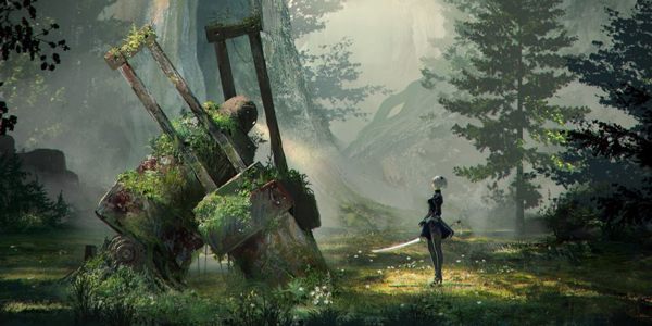 Découverte – NieR: Automata – PS4 Pro