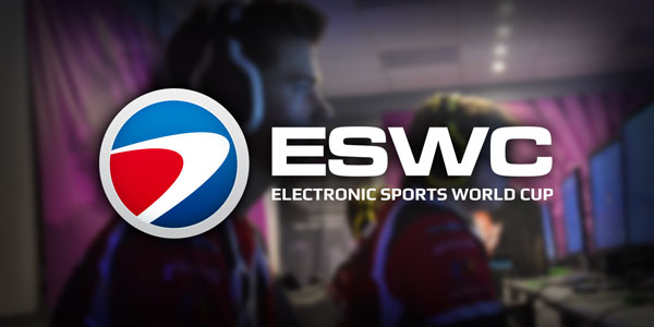 eSport : L'ESWC dévoile ses tournois officiels à la Paris Games Week !