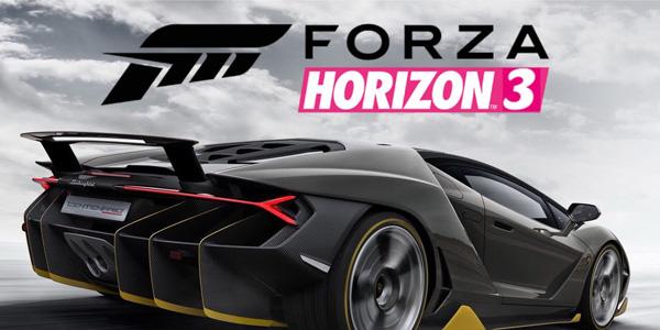 Forza Horizon 3 est désormais disponible !