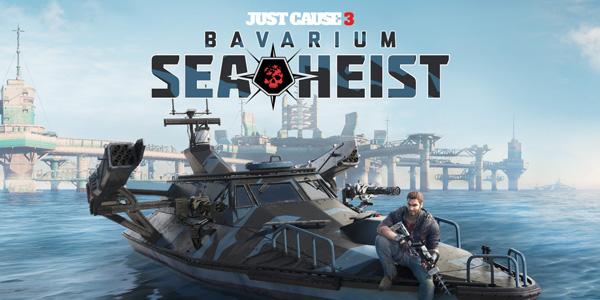 Just Cause 3 - Bavarium Sea Heist