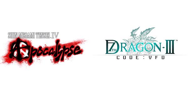 Shin Megami Tensei IV : Apocalypse et 7th Dragon III Code : VFD
