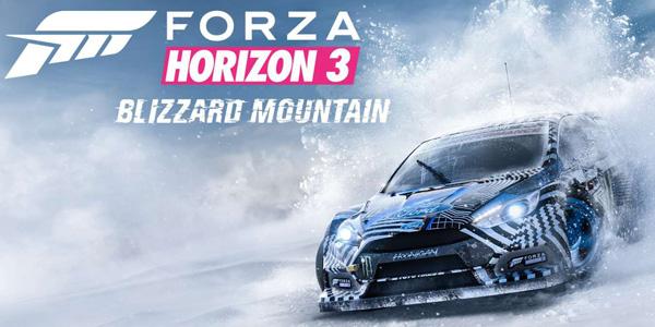 Forza Horizon 3 – L'extension Blizzard Mountain est disponible !