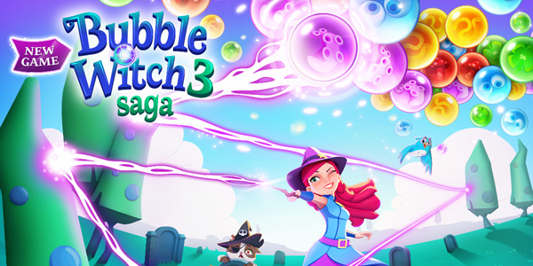 Bubble Witch 3 Saga est disponible sur mobile et Facebook !