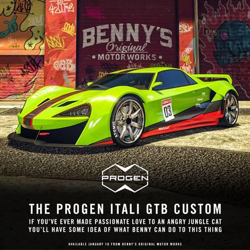 GTA Online - The Progen Italie GTB Custom