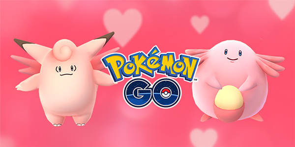 Pokémon Go Saint-Valentin
