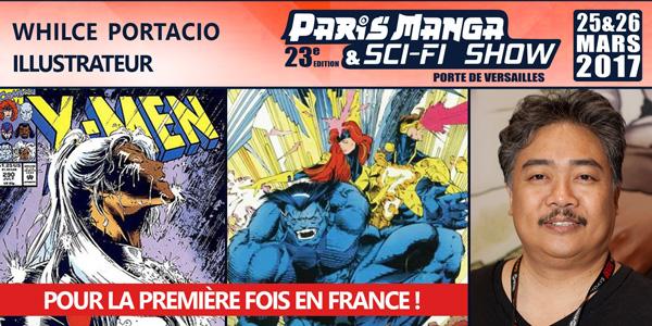 Whilce Portacio Paris Manga