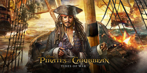 Joycity dévoile « Pirates of the Caribbean: Tides of War » sur mobile !