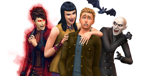 Let's Play : Sims 4 « Vampire Family » – Episode 6