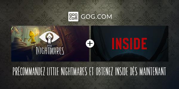 GOG.com – Précommandez Little Nightmares et obtenez Inside dès maintenant !