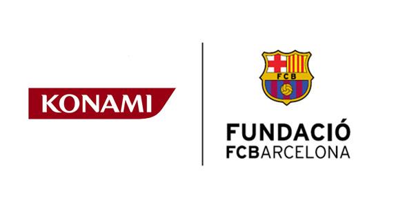 konami Fondation FC Barcelone PES