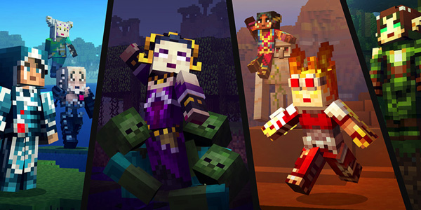 Minecraft Magic: The Gathering