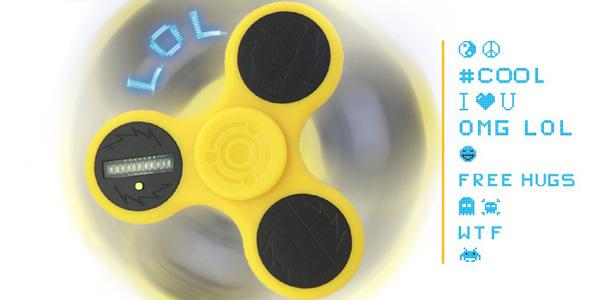 Steel Spinner Messenger – Découvrez le 1er hand spinner social !