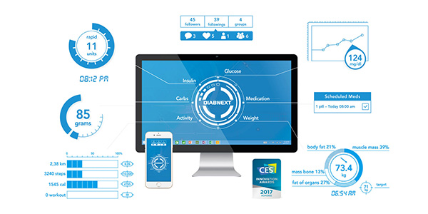 Diabnext – L'innovation e-santé française pour les 415 millions de diabétiques !