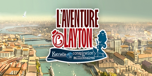 L'aventure Layton - Katrielle et la Conspiration des Millionnaires - L'Aventure Layton : Katrielle et la Conspiration des Millionnaires