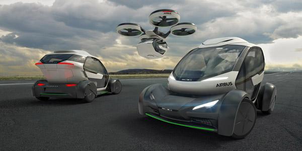 Pop Up Airbus Voiture Volante Mobilité