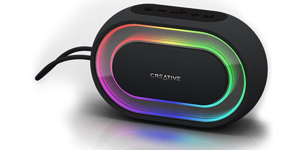Creative lance l'enceinte portable Bluetooth Creative Halo !