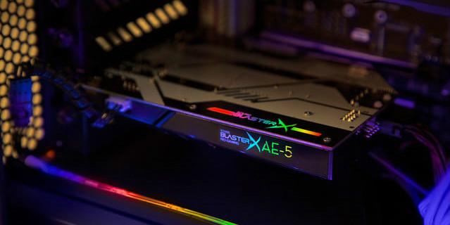 Gamescom – Creative présentera la Sound BlasterX AE-5 !