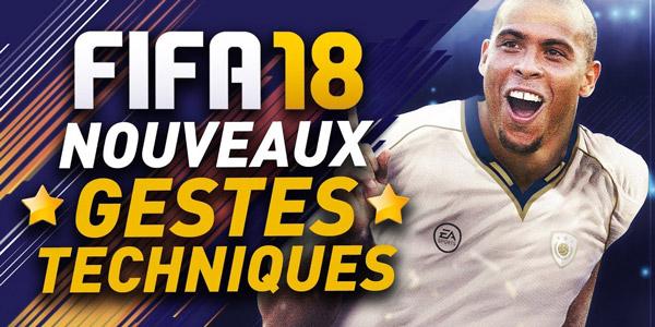 FIFA 18 – AxoSkill / Tuto nouveaux gestes techniques !