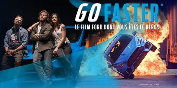 Ford – Devenez cascadeur d'un jour avec «Go Faster» !