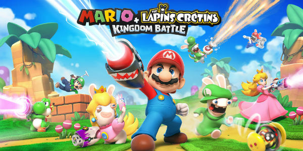 Donkey Kong arrive dans Mario + The Lapins Crétins Kingdom Battle !