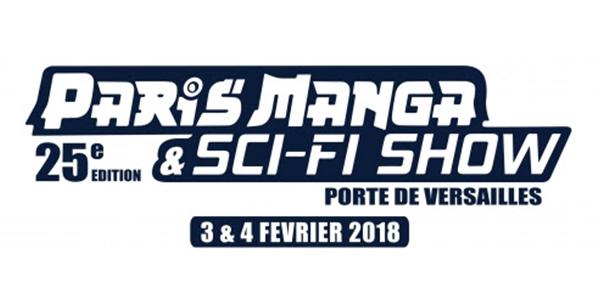 Paris Manga & Sci-Fi Show Fevrier 2018