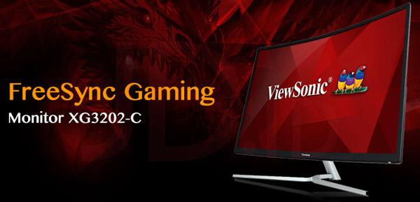 ViewSonic présente le nouveau moniteur gaming XG3202-C !