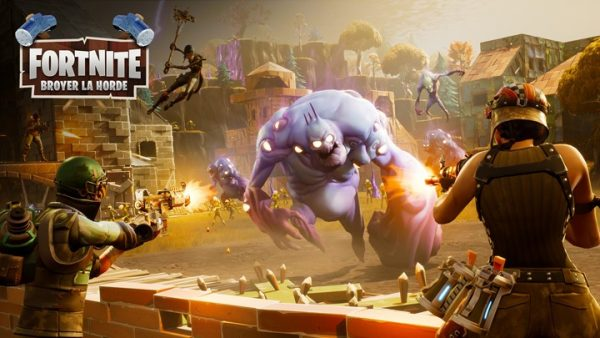 Fortnite Broyer la horde