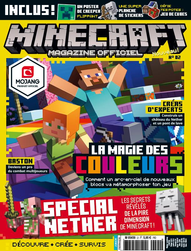 """Résultat de recherche d'images pour """"minecraft magazine officiel"""""""