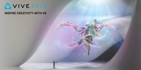HTC Vive lance le programme VR Vive Arts !