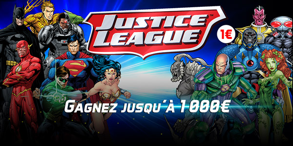 FDJ x Warner Bros - Justice League