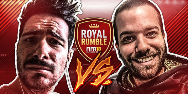 FIFA 18 Royal Rumble Psyko17 vs Amslow