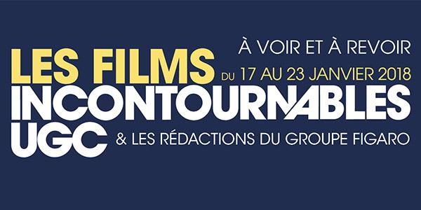 Découvrez le spot de la 11ème édition des Films Incontournables UGC 2018 !