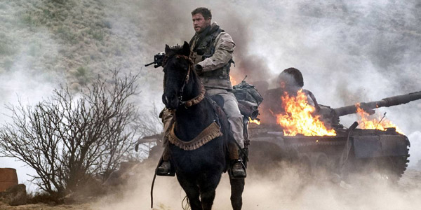 Horse Soldiers Chris HEMSWORTH