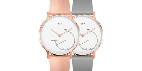 Nokia lance la montre connectée Nokia Steel HR Rose Gold !