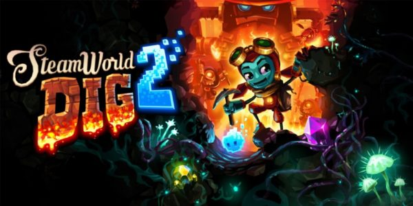 SteamWorld Dig 2 sera disponible le 4 mai sur Switch et PS4 !