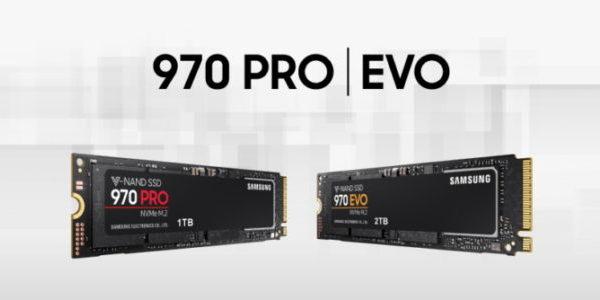 Samsung lance ces nouveaux SSD NVMe (970 PRO et EVO) !