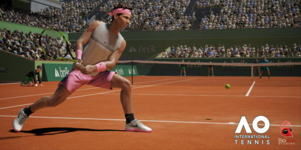 AO International Tennis met en avant son gameplay !