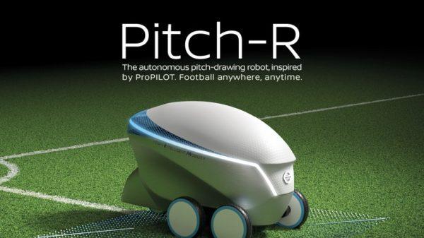 Nissan fait sensation avec le robot Pitch-R !