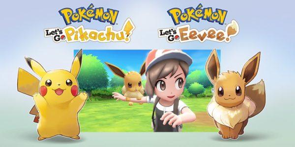 Pokémon : Let's Go, Pikachu et Pokémon : Let's Go, Évoli - Pokémon : Let's Go Pikachu et Pokémon : Let's Go Évoli