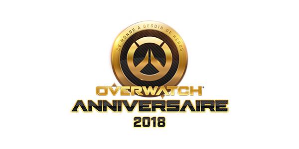 Overwatch Anniversaire 2018