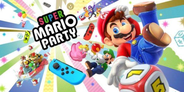 Super Mario Party sera disponible le 5 Octobre sur Nintendo Switch !