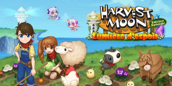 Harvest Moon: Lumière d'Espoir Edition Spéciale est disponible sur Switch et PS4 !