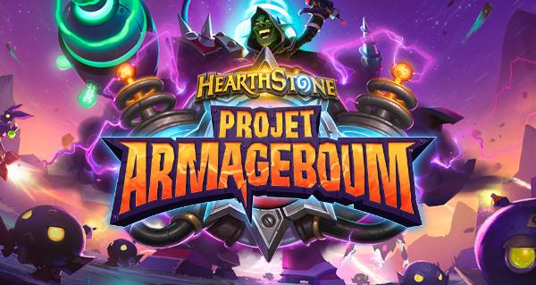 Hearthstone – Oliech découvre l'extension «Le projet Armageboum» !