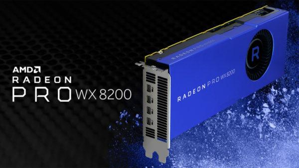 Radeon Pro WX 8200