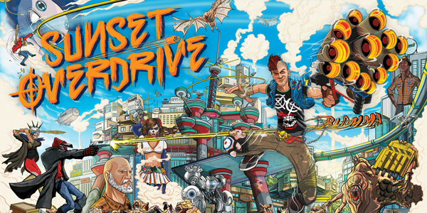Vidéo Test : Sunset Overdrive (XBOX One)