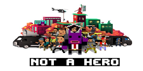 NOT A HERO est disponible sur Playstation 4 !