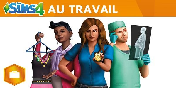 Le DLC Les Sims 4 Au Travail est disponible !