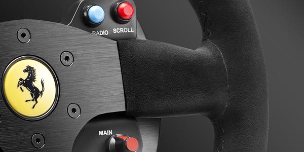 Thrustmaster présente le 599XX EVO 30 Wheel Add-on Alcantara Edition !